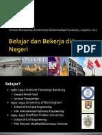 Belajar Bekerja LN