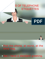 21 Tips of Telephone Etiquettes 157
