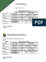 Jadual Peperiksaan Akhir Tahun 2017-t1