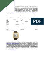 Replica Relojes Cartier Para Hombres Santos 100 en Oro Amarillo Reloj Automatico W20071Y1