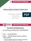 Penulisan n Penutupan NCR....pdf