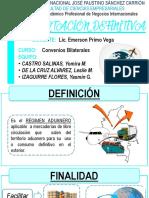 Exportacion Definitiva- Convenios Bilaterales
