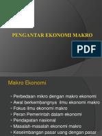 Pengantar Makro1 Tambahan Materi