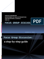 Kuliah-focus Group Discussion 2014