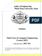 SPPU TE Computer Engg Syllabus 2015 Course 24th February 2017