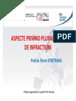 Pluralitatea de Infractiuni - Prof. Univ. Dr.florin Streteanu