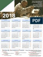 Calendario Padre Pío 2018