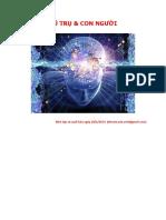 Vũ trụ và con người - Dịch giả Bạch Liên