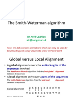 smithwaterman-130216133804-phpapp02