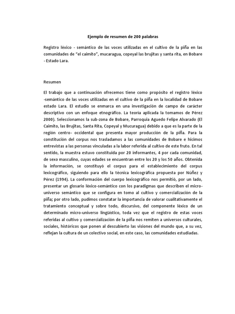 1527109074v1 - Ejemplos De Resume En Ingles