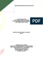 Análisis de Información Materiales Audiovisuales
