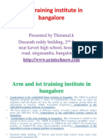 ARMTECHNOW|| EMBEDDED SYSTEMS TRAINING INSTITUTE IN BANGALORE