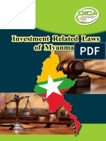 Investment Related Laws of Myanmar_DICA.pdf