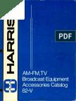Harris Broadcasting Accessories 1982