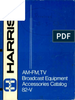 Harris Broadcasting Accessories 1982