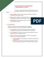 Legislación Sobre Prevención de Riesgos Laborales
