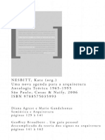 (10) Kate Nesbitt - Uma Nova Agenda Para Arquitetura (Leitura Online)