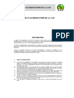 Annexe C - Guide d'Accreditation CAF