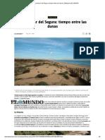 Viajes Torrevieja Guardamar Del Segura Dunas Payas Largas