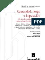 causalidad, riesgo e imputación (Sancinetti) [Indice]