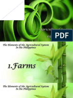 Characteristics of Agricultural System