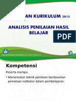 2.1. Analisis Penilaian Hasil Belajar