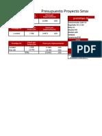 Presupuesto Proyecto SIGE 1.5