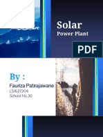 Renewable Energy-solar Power Station-fauriza