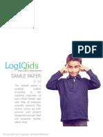 Logiqids Sample Paper KG Final