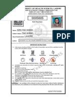 AdmitCard-UHS-140125967