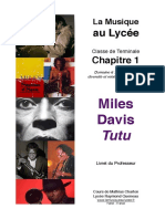 MilesDavis Professeur