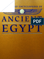 Oxford Encyclopedia of Ancient Egypt, Vol 1 - Unknown