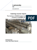 Pipe Manufacture Training by ENG Radi Saad