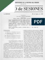 Diario de Sesiones de La Honorable Convención Constituyente Del Neuquén - 1957