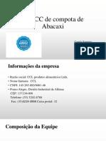 APPCC de Compota de Abacaxi