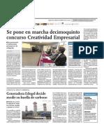 Lanzamiento de Creatividad Empresarial 2010 - El Comercio