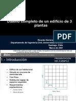 ALACERO-Diseño Completo de Un Edificio de 3 Plantas
