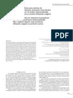 Valoracion de Dieta Para Alevines de Gamitana Fuente de Proteina Hgarina de Lombris.