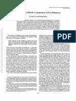 Journal of Applied Psychology Volume 79 issue 3 1994 [doi 10.1037%2F0021-9010.79.3.364] Lee, Cynthia; Bobko, Philip -- Self-efficacy beliefs- Comparison of five measures. (1).pdf