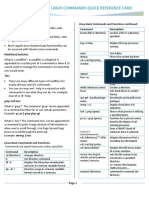 Dcat Linux Commands Quick Reference Card Battle Card v3