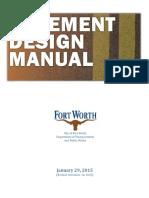 Pavement Manual