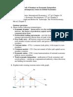 Seminar 4 Economic Integration