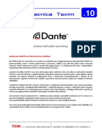 News Tecnica n.10 AudioNetworking DANTE