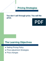 Chapter 7   Pricing Strategies.ppt
