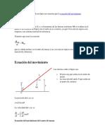 El movimiento de caída de un lápiz nos muestra que la ecuación del movimiento.docx