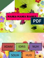 Nama Nama Rasul