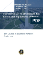 Corporate Tax Reform and Growth