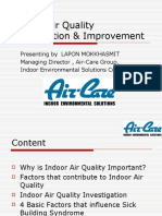 Indoor Air Quality Remediation & Improvement