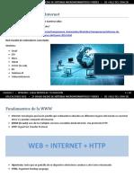 U1 Internet, Características y Evolución