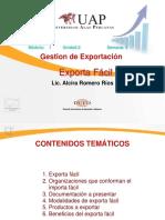 Gestion de Exportación-Exporta Fácil